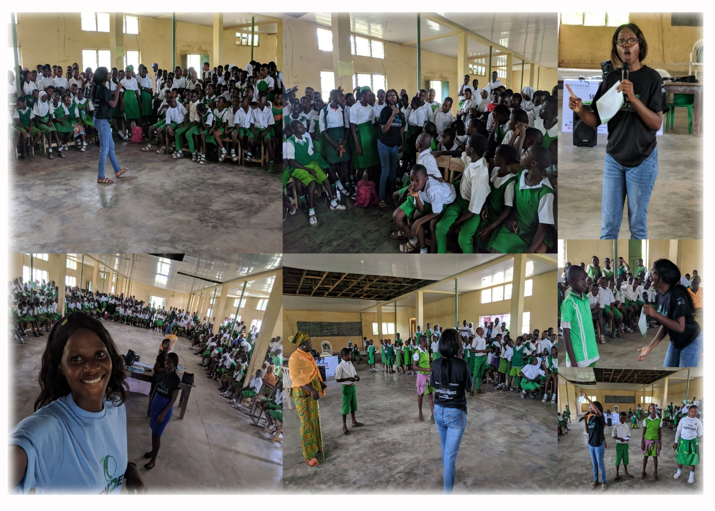 Pictures from an adolescent Hub Outreach held in Ekiti state
