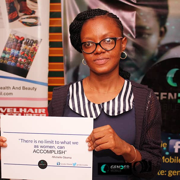 Omowumi Ogunrotimi, E.D Gendermobile in action.